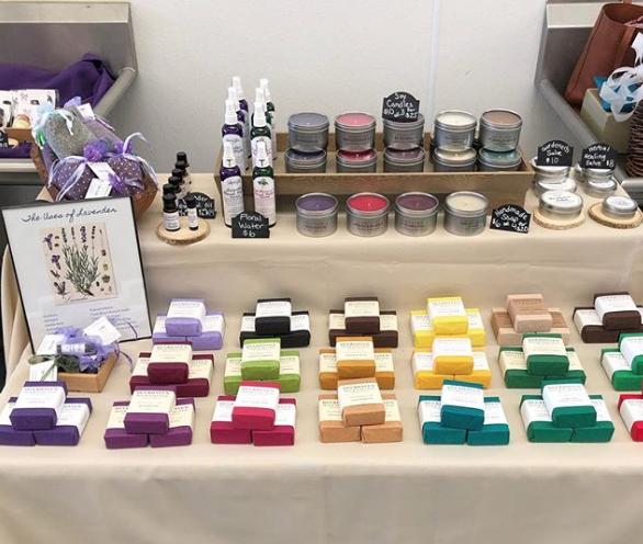 Deerhaven soap display