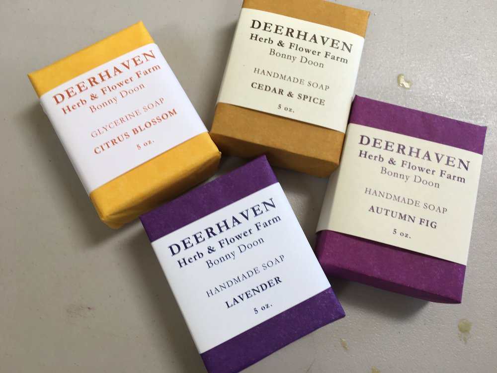 My favorite soaps- Deerhaven lavender