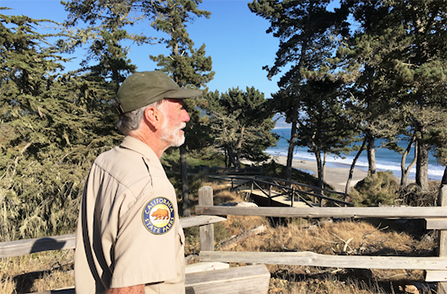 Chris Tomkins of Año Nuevo State Park