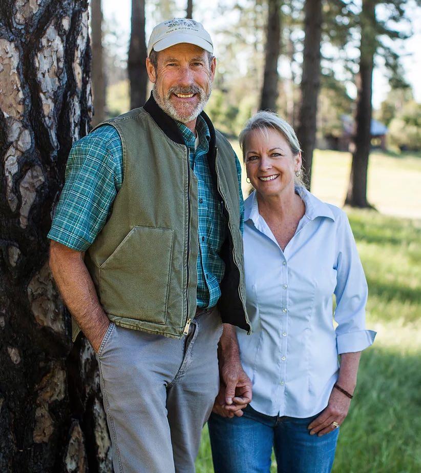 David & Mary Jessen of Deerhaven Lavender farm