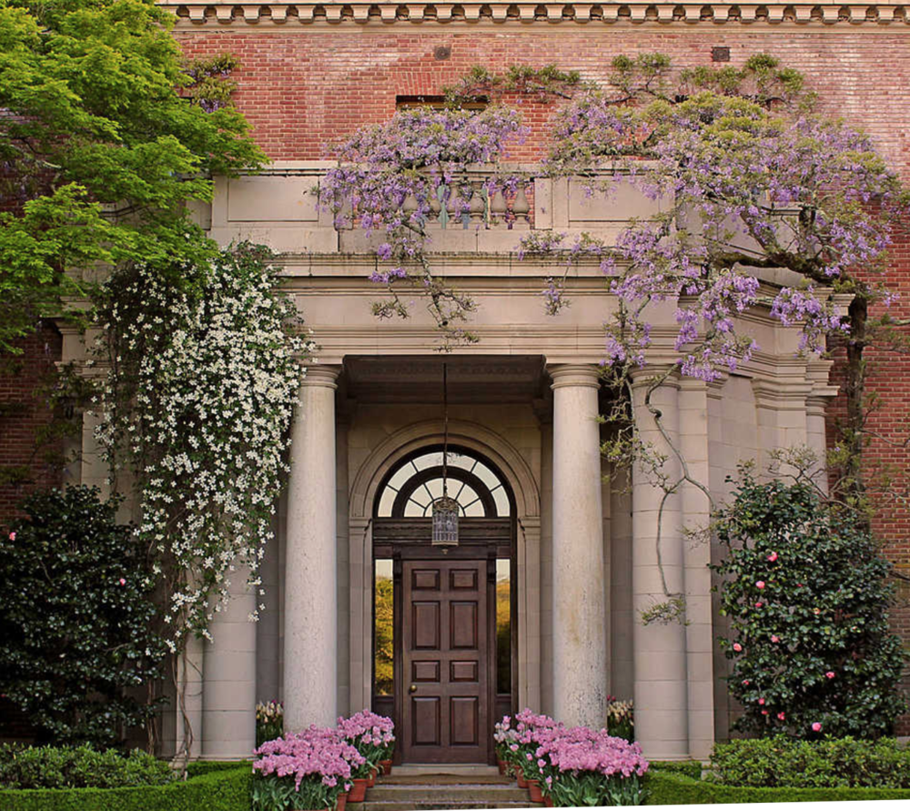 "Filoli stands for ""Fight for a just cause; Love your fellow man; Live a good life."" Credo of Mr. Bourn, original owner and builder of Filoli."