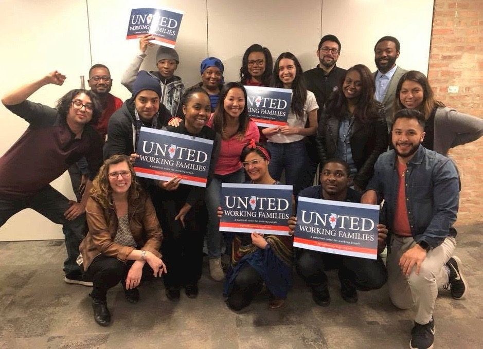 movement leader fellows - Paid internship for people of color to learn skills and build durable organization through placement on an endorsed campaign.