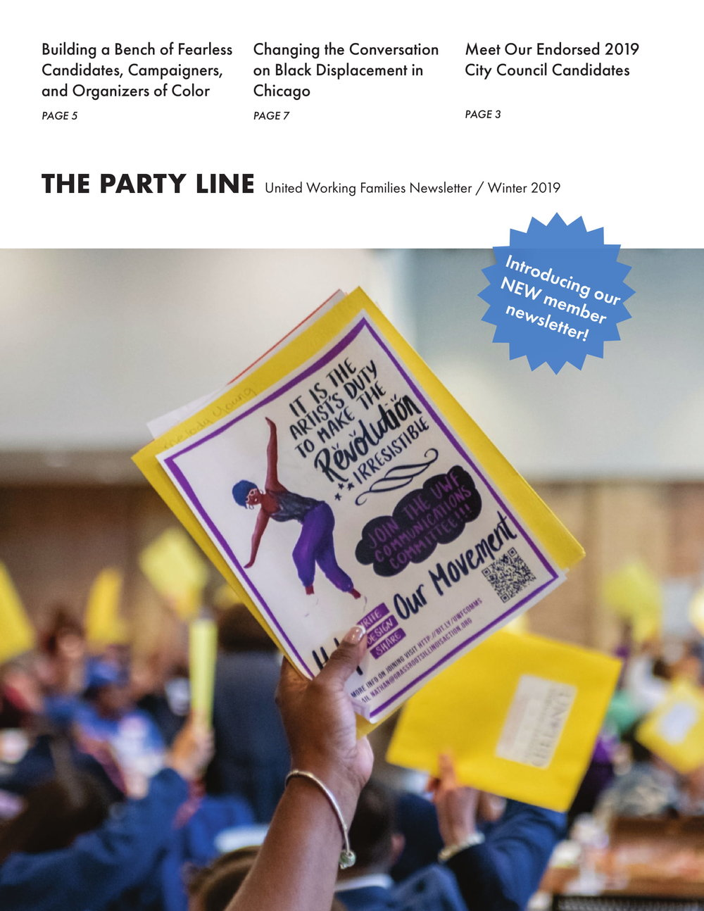 MEMBER NEWSLETTERS ARE HERE! - The Party Line, our new member newsletter, is here! Click here to download a copy or join today to receive your next issue in the mail.