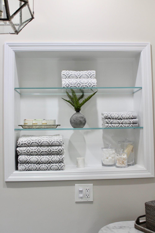 Built in shelf