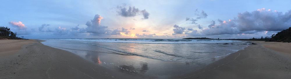 Beach Ocean Landscapes Safety Beach Pano.JPG