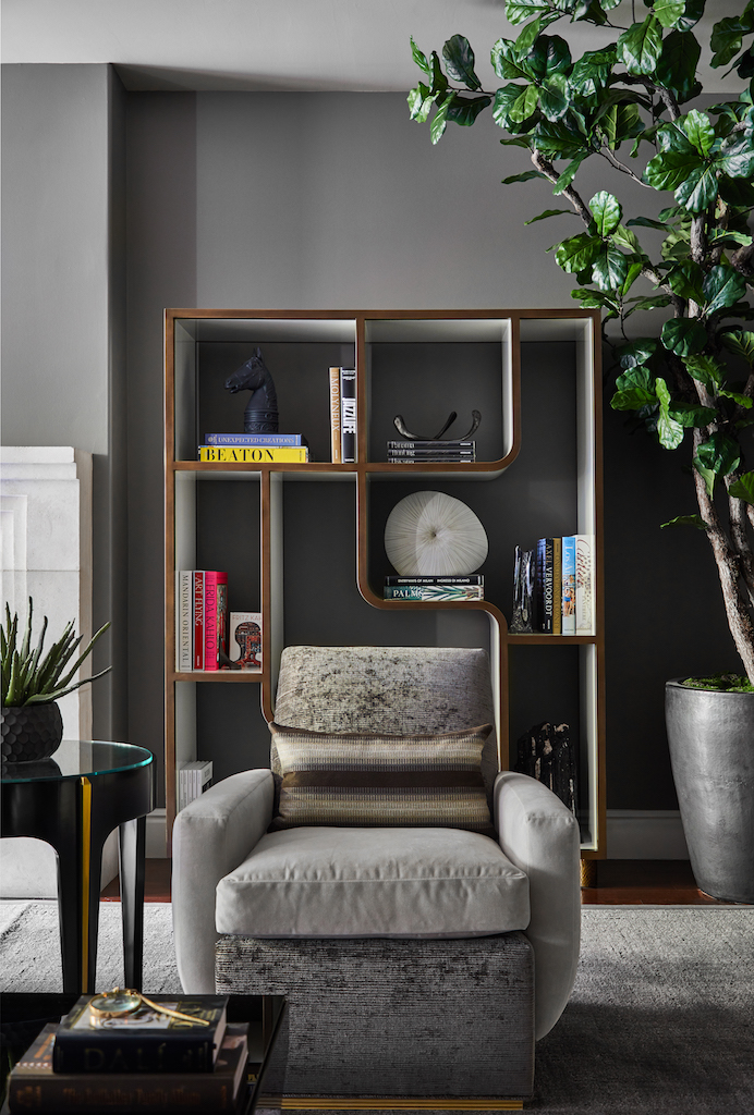 Oscar - Accent Chair with Bookcase Vignette.jpg