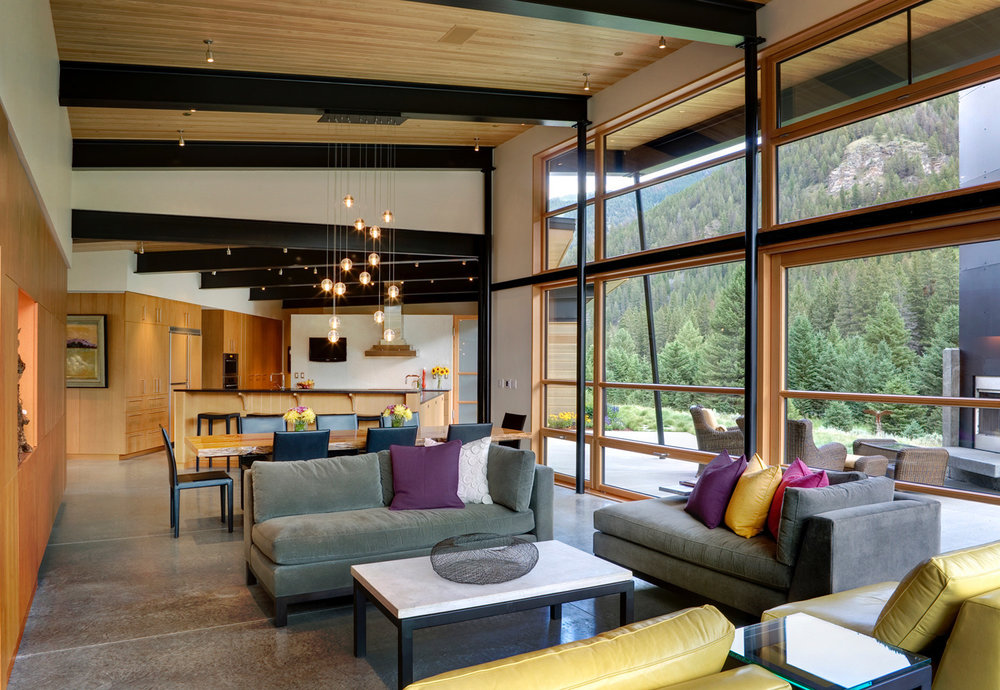 The River Bank House-    Prentiss + Balance + Wickline Architects