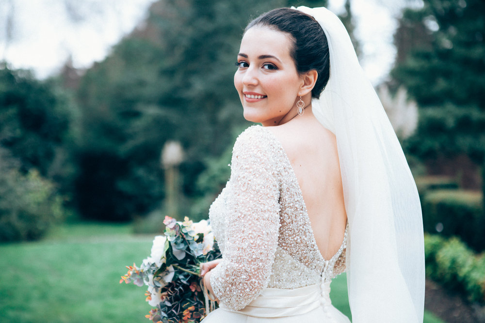 This stunning wedding in right outside of London in Woking will soon be up on the blog!