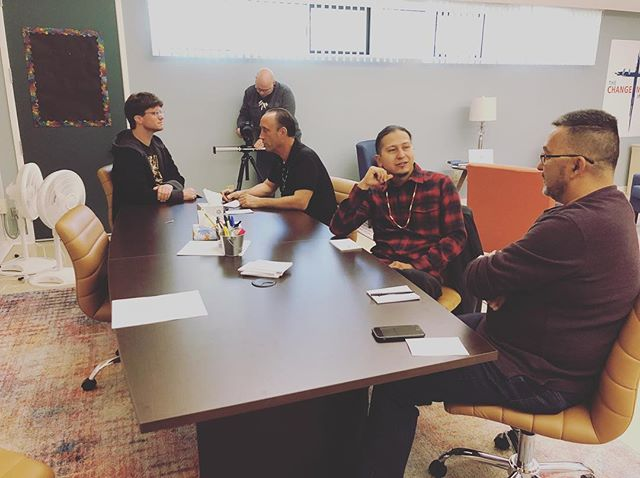 The project in action. This day was filled with a lot of emotion, and all of it sparked some truly great discussion. #healthymasculinuty #masculinity #buffaloproject #men #menshealth #mentalhealth