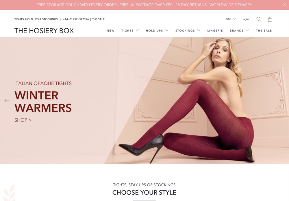 The Hosiery Box - New supplier of lingerie & hosierywww.thehosierybox.com