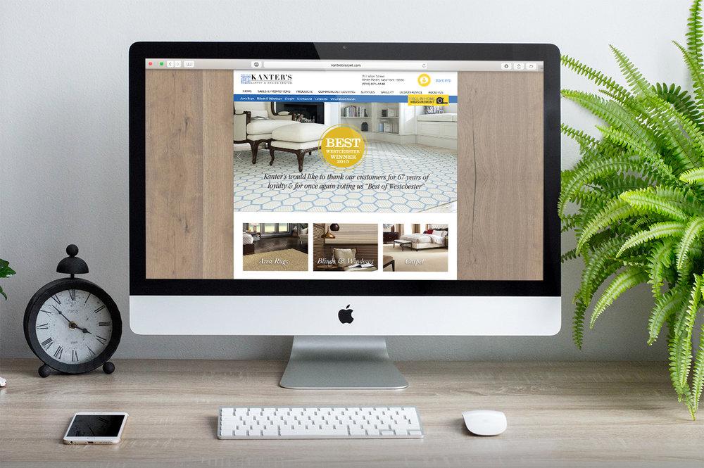 Kanter's Flooring Live Site    https://www.kanterscarpet.com/  I designed the site for Kanter's flooring retailer in 2014, that shipped to customers.
