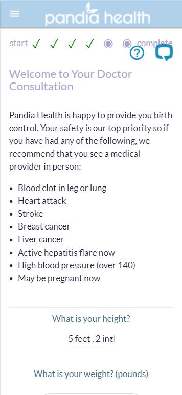 Pandia Health Prototype