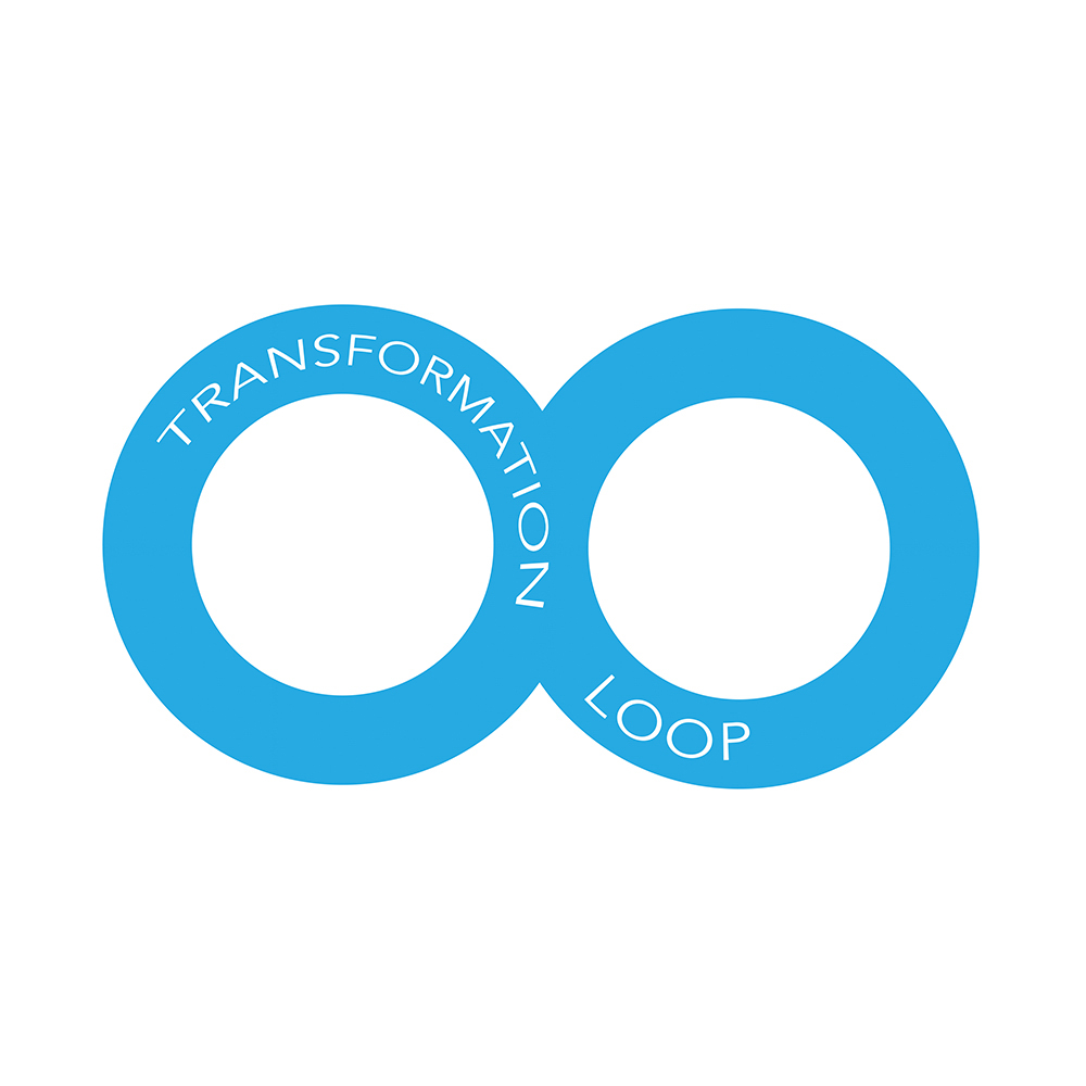 TRANSFORMATION LOOP   We lead an organization through transformation by analyzing, designing, and executing with the client's needs in mind. We loop leadership, innovation, and change management together.
