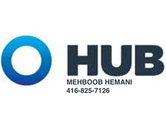 HUB INTERNATIONAL   At HUB our mission is to provide tailored insurance solutions that help you protect what matters most. Mehboob Hemani, is your local insurance expert can help find you the right coverage for the right price! Connect with Mehboob now for a free quote 416-825-7126 or  mehboob.hemani@hubinternational.com .