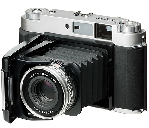 My Fujifilm GF670 Medium Format Film Camera. Very Retro Looking.