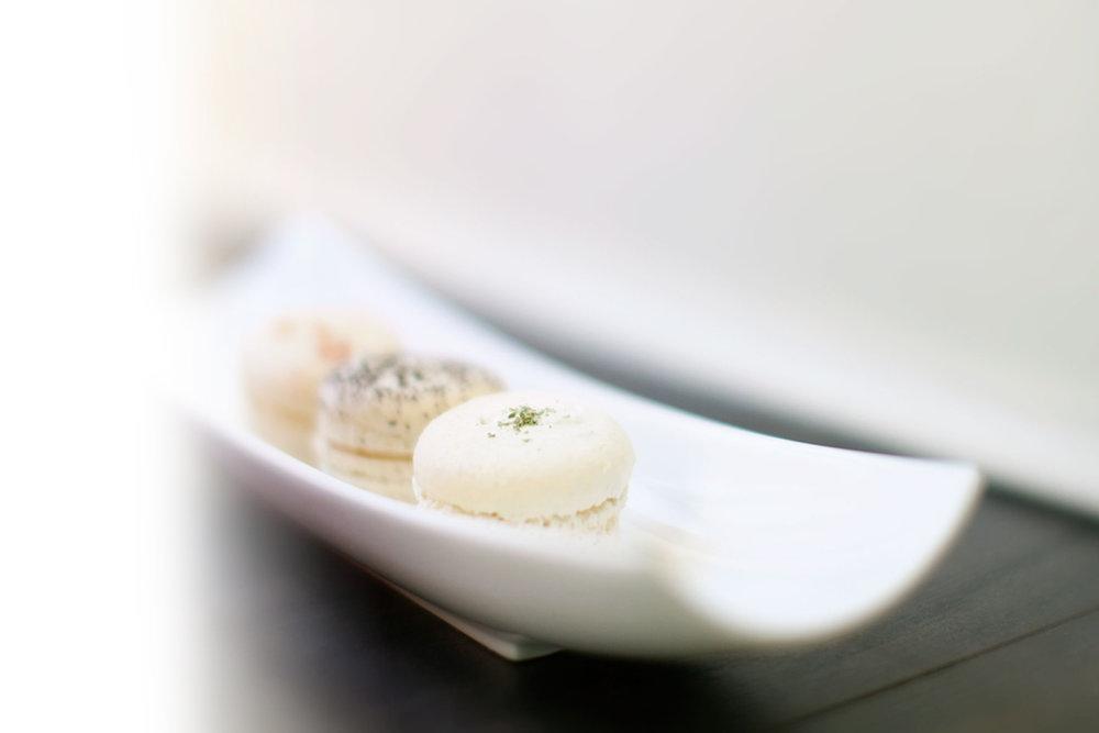 dessert provided by: - Bon Macaron Patisserie1012 Broad St, Victoria(778) 265-0850