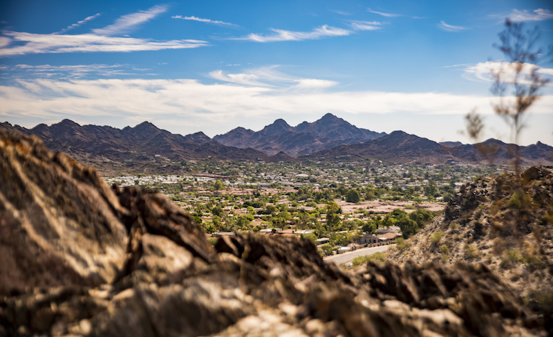 View from North Mountain. Image Credit: City of Phoenix Parks and Recreation.