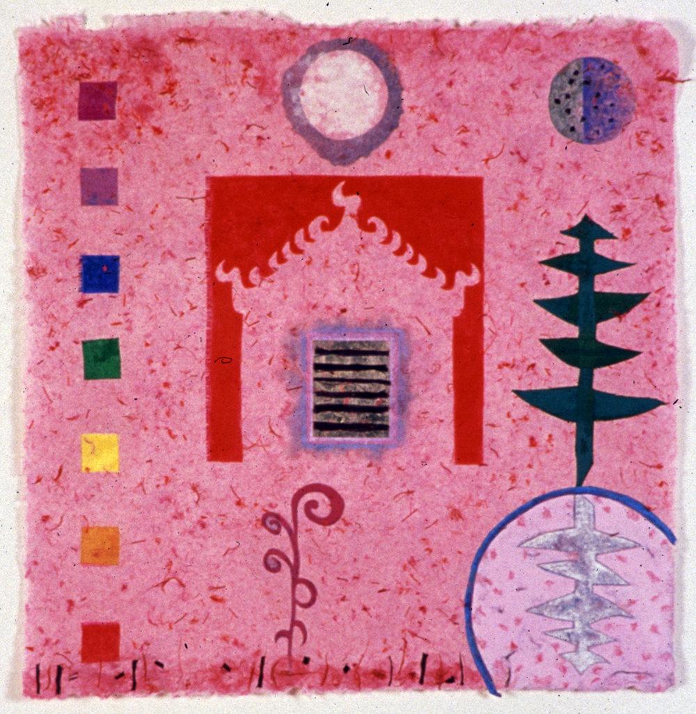 Spirit House Pink