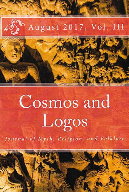 "Cosmos and Logos, Journal of Myth, Religion, and Folklore, Volume III, 2017    ""Turquoise Woman and Golden Earth"",""Moon Prayers""  : art and articles published in this journal."