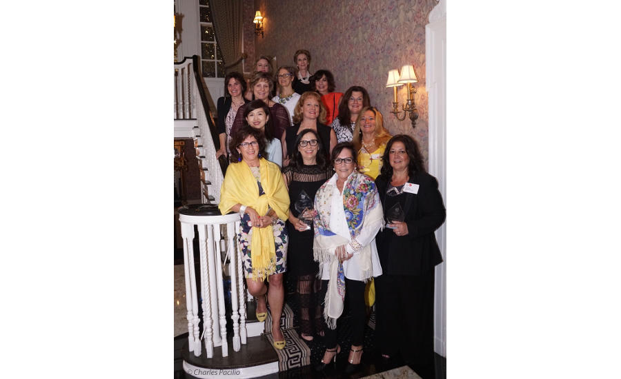 Bottom row (L to R):  Nancee Brown; Beth Insabella Walsh; Ivee Fromkin; Anna Maria Mannarino (current chapter president).  Second row (L to R):  Hong Jin; Suzan Lucas Santiago; Ria Gulian.  Third row (L to R):  Sharon Sherman; Marina Klima Goldberg.  Fourth row (L to R): Maria Bevill; Tracey Stephens; Sheila Rich.  Back row (L to R):  Jo Ann Alston; Virginia Zonfrilli.  Not pictured:  Diane Durocher; Karen Topjian; Karla Trincanello; Linda Wagner.