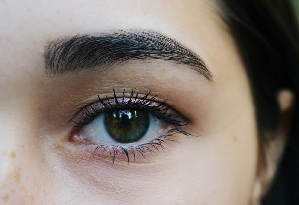 brighten your eyes with a little mascara -