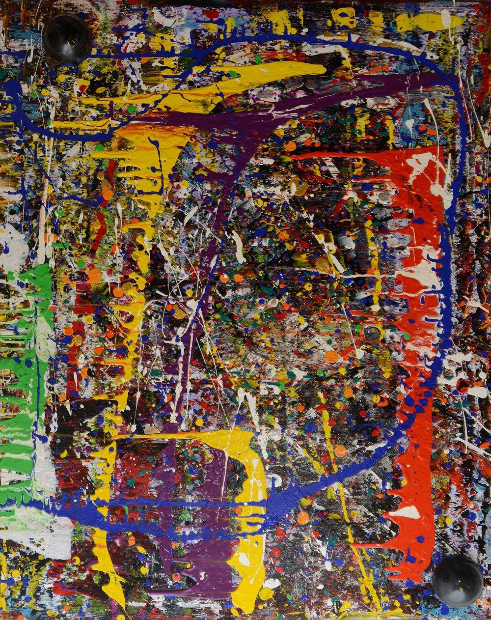 Korona II Acryl auf Leinwand