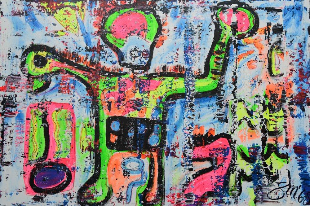 Hommage an Jean-Michel Basquiat