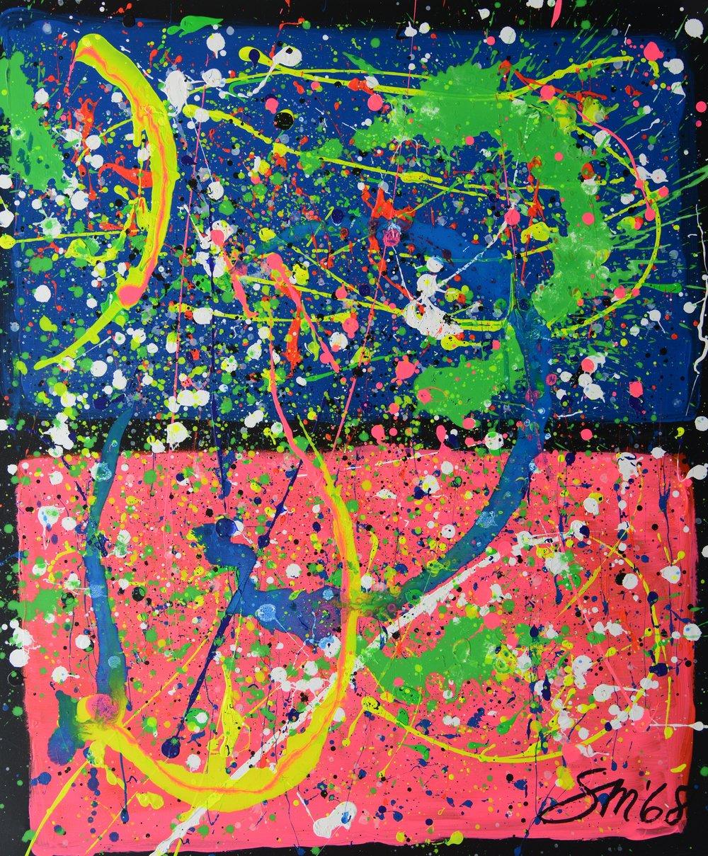 Hommage an Marc Rothko I Acryl auf leinwand Hommage an Marc Rothko I Acryl auf Leinwand