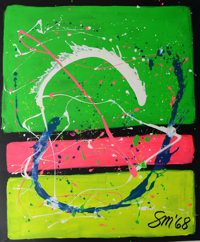 Hommage an Marc Rothko II Acryl auf Leinwand