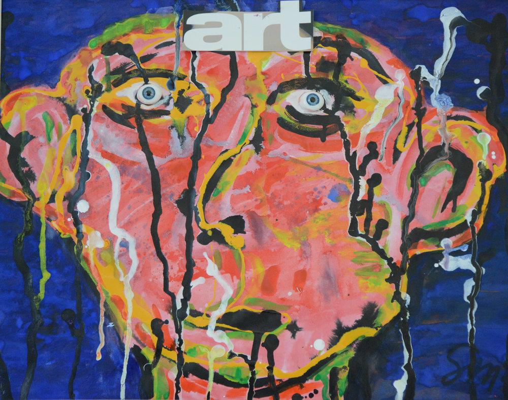 art 1 | Acryl auf Leinwand