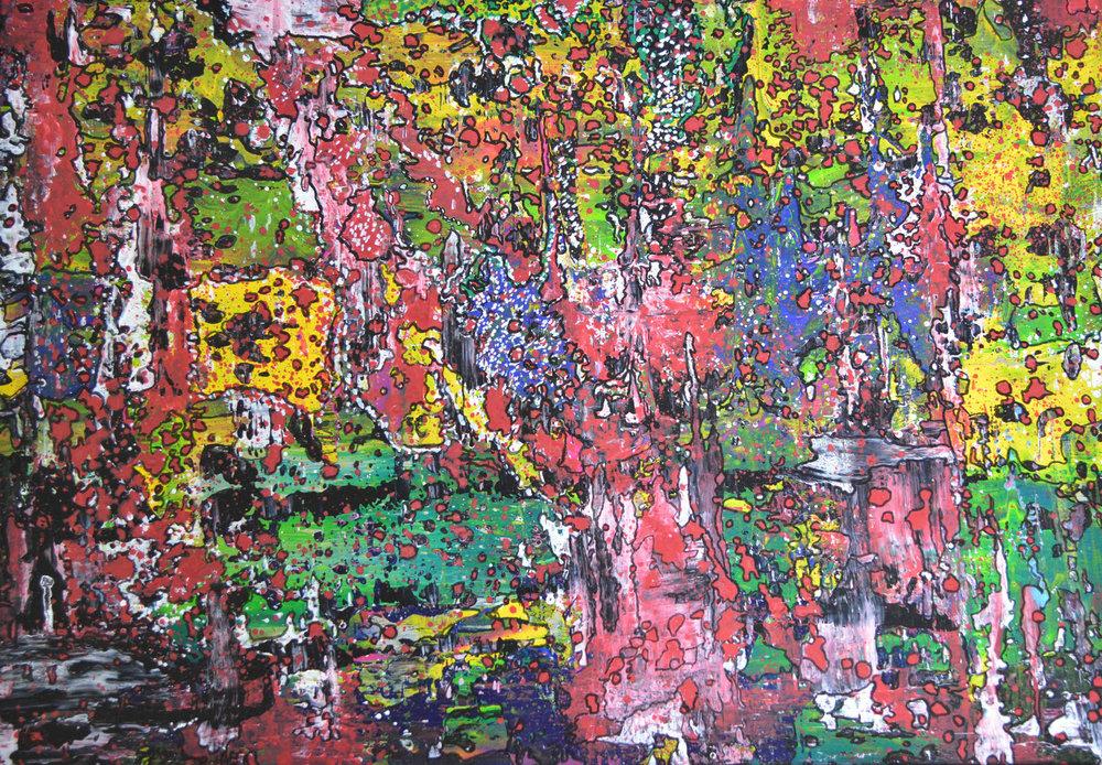 Farbkomposition 2 | Acryl auf Leinwand