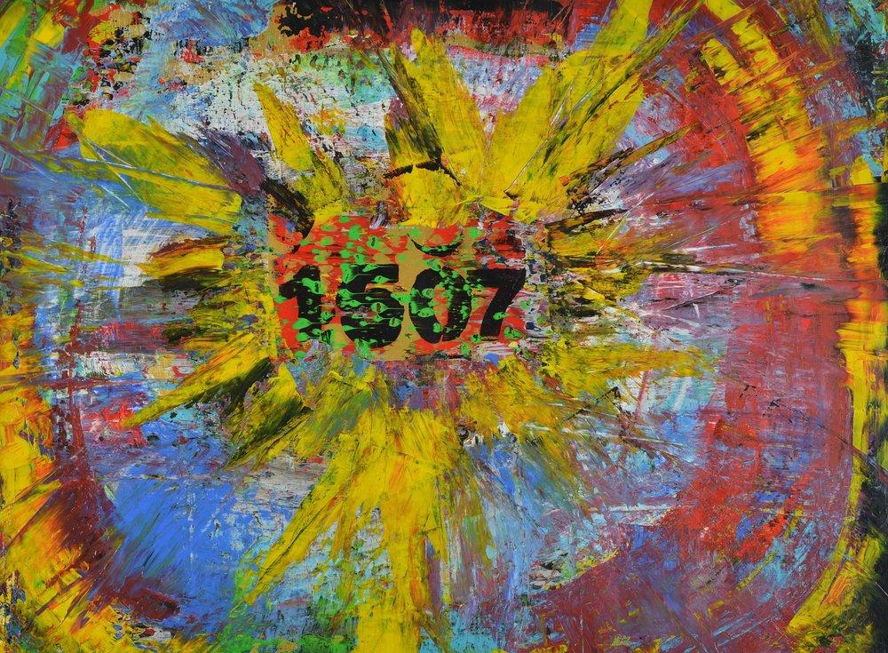 1507 | Acryl auf Leinwand