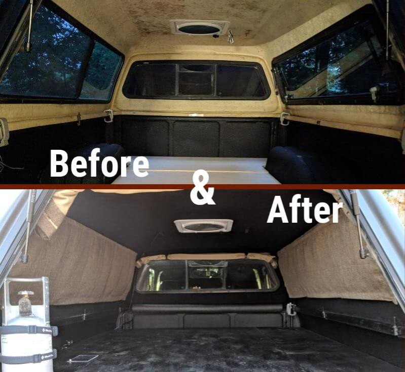 Build The Ultimate Truck Shell Camping And Budget Overland