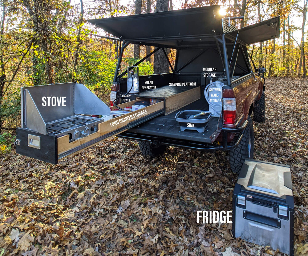 Homemade Diy Truck Camper Build Detailed Step By Step Guide Take The Truck