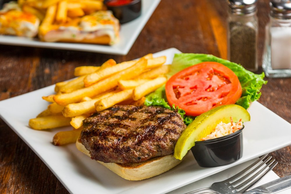 MondayBurger Night - Burger & Fries starting at $5.95Every Monday 4pm - 10pm