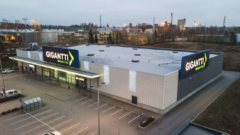 Gigantti Megastore, Lielahti, Tampere