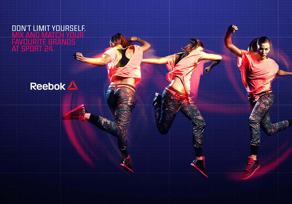 reebokProduktlancering - Coming up