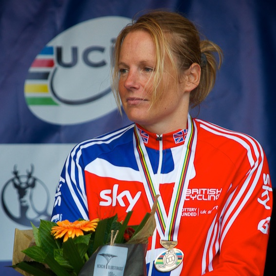 Karen Darke: Paralympic Handcycling Gold medal 2016, Silver 2012; World Human Powered Speed Record (arm powered) 2018.