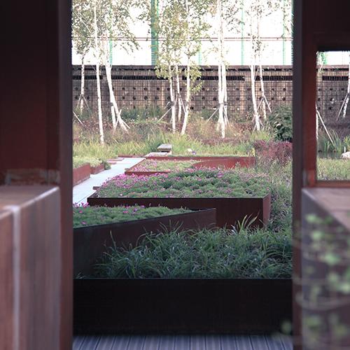 PARK & ANLEGG - plantekasser, benker, Cortenstål