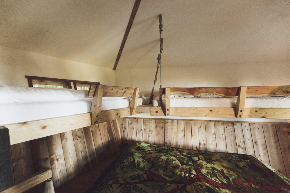 Trunk Treehouse Baumhaushotel Robins Nest