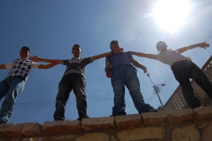 Ibrahim, Amir, Yusef, and Muntaser show us they can take on the world in style.
