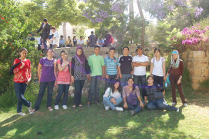 TYO's Model United Nations class attends a Model UN simulation in Ramallah!