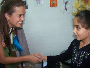 Petra meet TYO participant