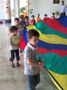Children with Parachute
