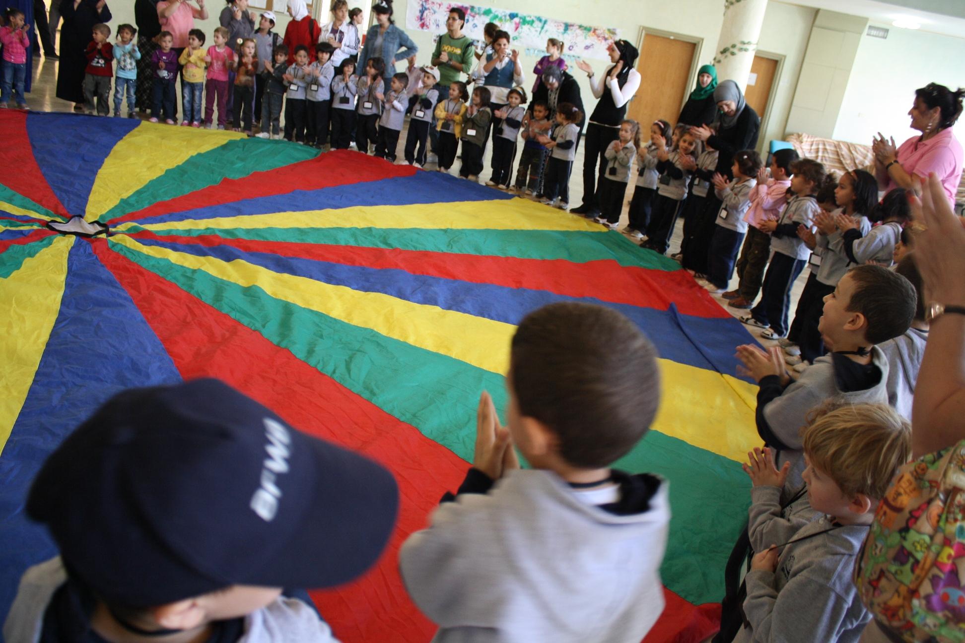 Children visiting TYO