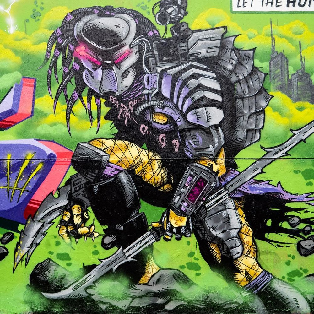 Blazeworks - The Canadian graffiti artist is now based in Singapore. At Street Superior, you will find his creations lining just some of the walls of our festival.