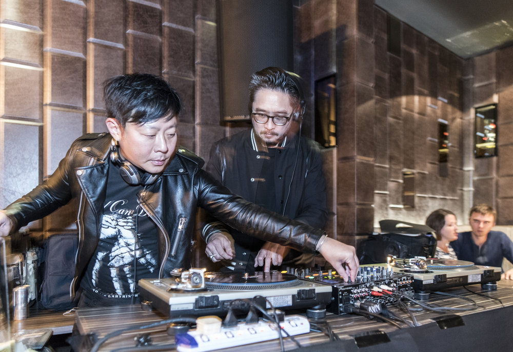 Candy Says - The vinyl-only DJ twosome have played in music festivals, clubs, and outdoor bars. The often-dusted records on Candy Says' turntables cover alternative rock, indie electronica, shoegaze, folk, punk, post-punk, and the occasional Kanye.