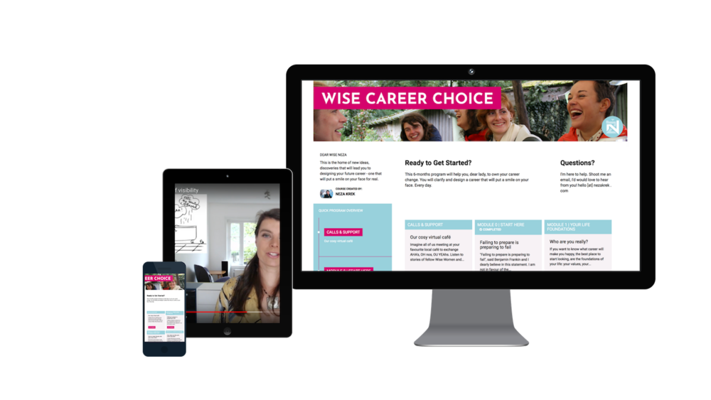 NezaKrek.com_Wise Career choice program