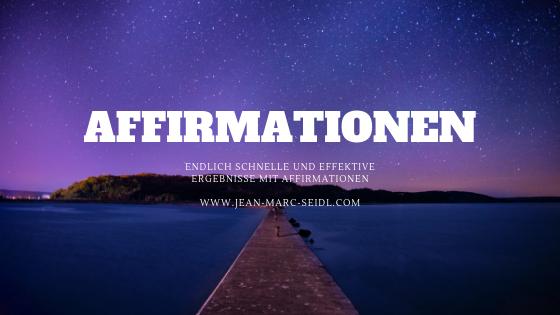 Erhalte effektive und schnelle Ergebnisse mit Affirmationen