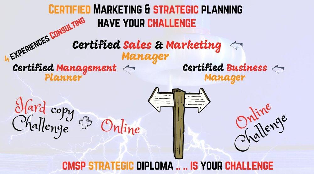 دبلوم خبير التسويق و التخطيط الأستراتيجي